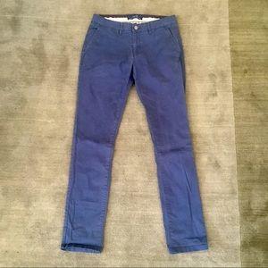 Zara Men's navy blue chino pant size 31